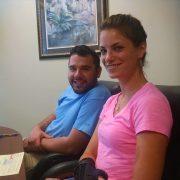 Greg and Lara